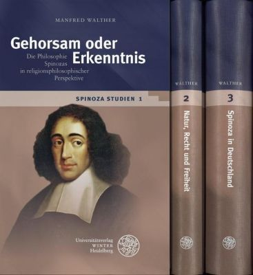 Spinoza-Studien, 3 Bde. - Manfred Walther pdf epub