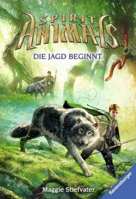 Spirit Animals - Die Jagd beginnt, Maggie Stiefvater