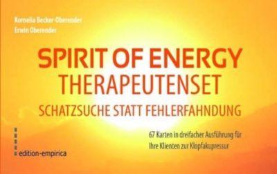 Spirit of Energy, Therapeutenset Schatzsuche statt Fehlerfahndung, 201 Ktn., Kornelia Becker-Oberender, Erwin Oberender