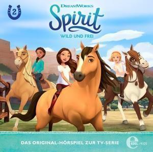 Spirit, wild und frei - Die rätselhafte Karte, 1 Audio-CD, Spirit