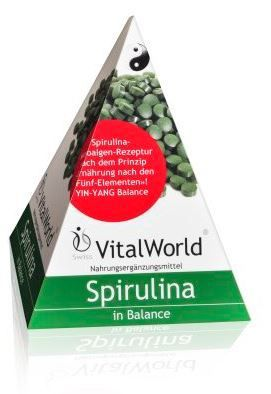 Spirulina, Dose à 250 Tabletten von VitalWorld
