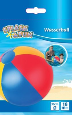 Splash & Fun Strandball uni, Ø ca. 30 cm