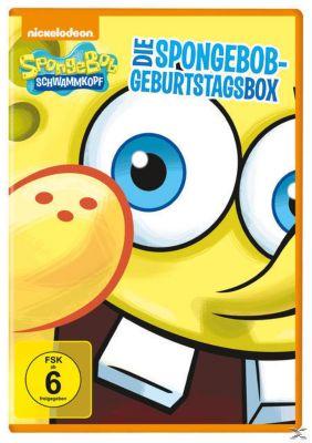 SpongeBob Schwammkopf - Die SpongeBob Geburtstagsbox - 2 Disc DVD, Diverse Interpreten