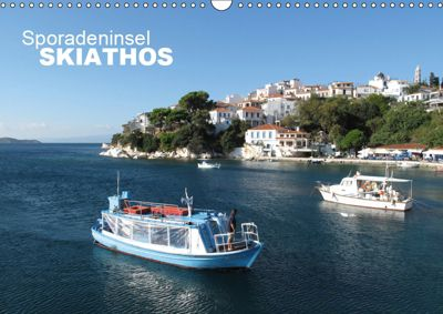 Sporadeninsel Skiathos (Wandkalender 2019 DIN A3 quer), Nicolas Pabst