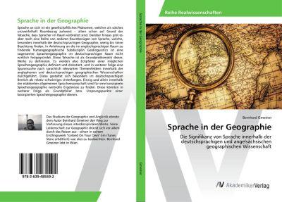 Sprache in der Geographie, Bernhard Gmeiner