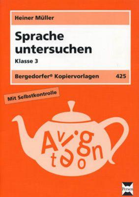 Sprache untersuchen, Klasse 3, Heiner Müller