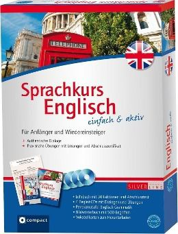 Sprachkurs Englisch einfach & aktiv, Lehrbuch m. 4 Audio-CDs, Sabina Barth