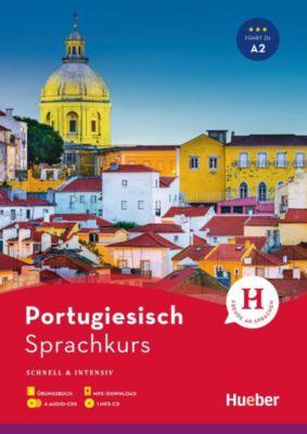 Sprachkurs Portugiesisch - Schnell & intensiv, Übungsbuch m. 4 Audio-CDs + 1 MP3-CD