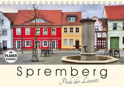 Spremberg - Perle der Lausitz (Tischkalender 2019 DIN A5 quer), LianeM