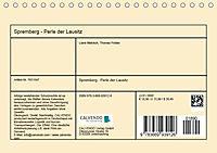 Spremberg - Perle der Lausitz (Tischkalender 2019 DIN A5 quer) - Produktdetailbild 13