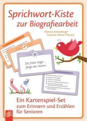 Sprichwort-Kiste zur Biografiearbeit, Marion Jettenberger, Susanne Moser-Patuzzi