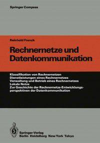 Springer Compass: Rechnernetze und Datenkommunikation, Reinhold Franck