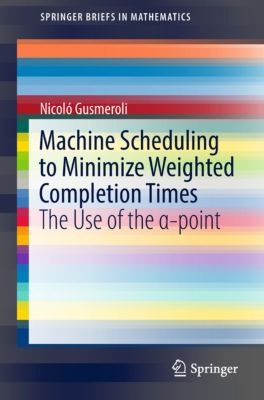 SpringerBriefs in Mathematics: Machine Scheduling to Minimize Weighted Completion Times, Nicoló Gusmeroli