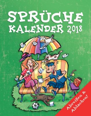 Sprüche Abreisskal. 2018