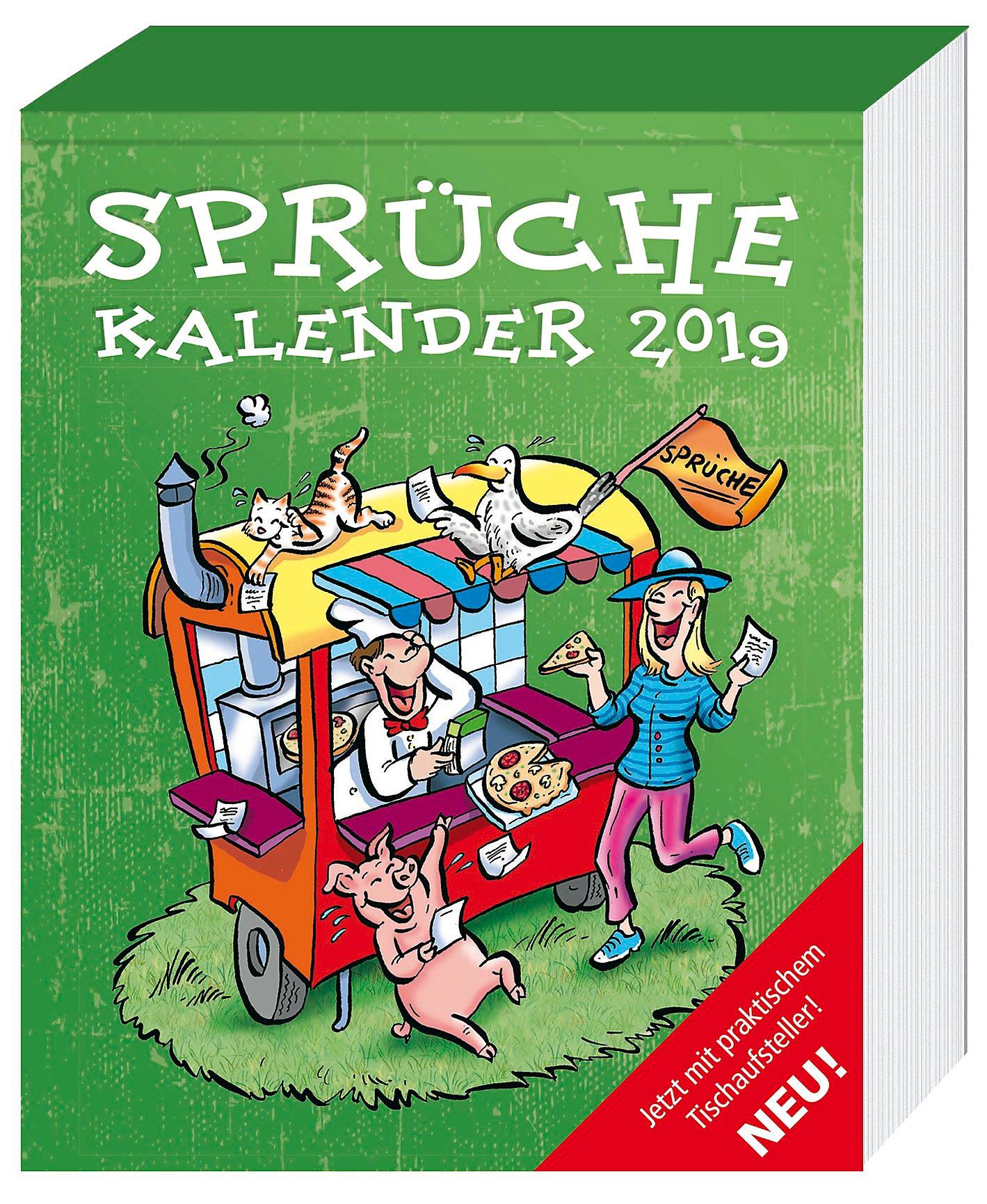 Sprüche Abreißkalender 2019 Kalender Bei Weltbildde Bestellen