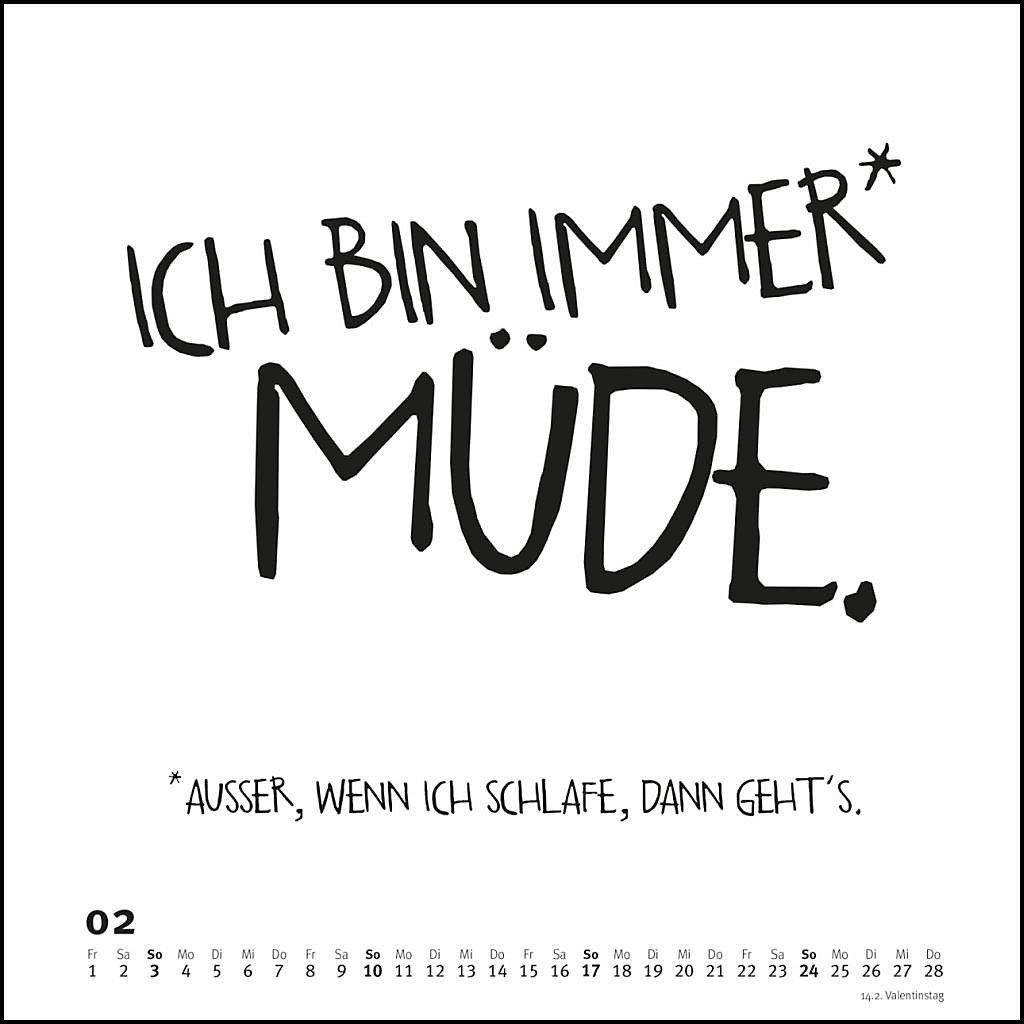 Spruche Im Quadrat 2019 Kalender Bei Weltbild De Bestellen