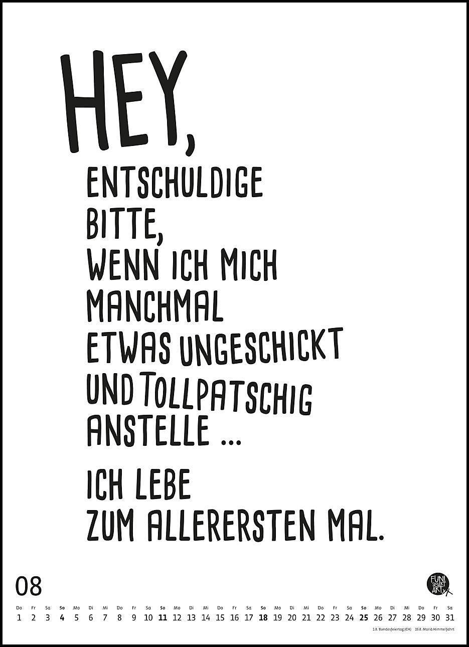 Spruche Kalender 2019 Kalender Bei Weltbild At Bestellen