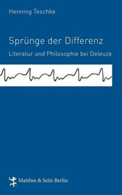 Sprünge der Differenz, Henning Teschke