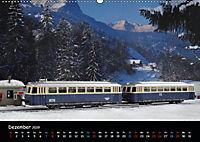 Spur N und Z international, Modelleisenbahn (Wandkalender 2019 DIN A2 quer) - Produktdetailbild 12
