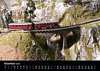 Spur N und Z international, Modelleisenbahn (Wandkalender 2019 DIN A2 quer) - Produktdetailbild 11