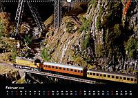 Spur N und Z international, Modelleisenbahn (Wandkalender 2019 DIN A2 quer) - Produktdetailbild 2