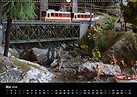 Spur N und Z international, Modelleisenbahn (Wandkalender 2019 DIN A2 quer) - Produktdetailbild 5