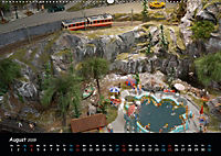 Spur N und Z international, Modelleisenbahn (Wandkalender 2019 DIN A2 quer) - Produktdetailbild 8