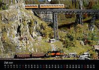 Spur N und Z international, Modelleisenbahn (Wandkalender 2019 DIN A2 quer) - Produktdetailbild 7