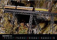 Spur N und Z international, Modelleisenbahn (Wandkalender 2019 DIN A2 quer) - Produktdetailbild 9
