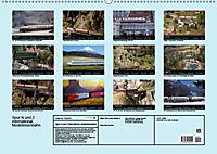 Spur N und Z international, Modelleisenbahn (Wandkalender 2019 DIN A2 quer) - Produktdetailbild 13