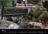 Spur N und Z international, Modelleisenbahn (Wandkalender 2019 DIN A3 quer) - Produktdetailbild 5