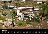 Spur N und Z international, Modelleisenbahn (Wandkalender 2019 DIN A3 quer) - Produktdetailbild 4