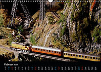 Spur N und Z international, Modelleisenbahn (Wandkalender 2019 DIN A3 quer) - Produktdetailbild 2