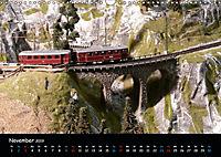 Spur N und Z international, Modelleisenbahn (Wandkalender 2019 DIN A3 quer) - Produktdetailbild 11