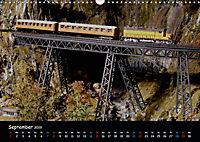 Spur N und Z international, Modelleisenbahn (Wandkalender 2019 DIN A3 quer) - Produktdetailbild 9