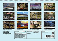 Spur N und Z international, Modelleisenbahn (Wandkalender 2019 DIN A3 quer) - Produktdetailbild 13