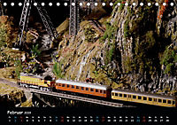 Spur N und Z international, Modelleisenbahn (Tischkalender 2019 DIN A5 quer) - Produktdetailbild 2