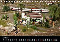 Spur N und Z international, Modelleisenbahn (Tischkalender 2019 DIN A5 quer) - Produktdetailbild 4