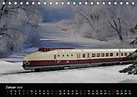 Spur N und Z international, Modelleisenbahn (Tischkalender 2019 DIN A5 quer) - Produktdetailbild 1