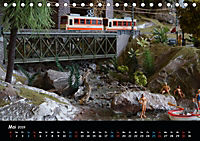 Spur N und Z international, Modelleisenbahn (Tischkalender 2019 DIN A5 quer) - Produktdetailbild 5