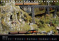 Spur N und Z international, Modelleisenbahn (Tischkalender 2019 DIN A5 quer) - Produktdetailbild 7