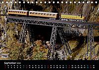 Spur N und Z international, Modelleisenbahn (Tischkalender 2019 DIN A5 quer) - Produktdetailbild 9
