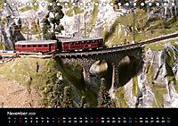 Spur N und Z international, Modelleisenbahn (Tischkalender 2019 DIN A5 quer) - Produktdetailbild 11