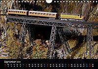 Spur N und Z international, Modelleisenbahn (Wandkalender 2019 DIN A4 quer) - Produktdetailbild 9