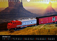 Spur N und Z international, Modelleisenbahn (Wandkalender 2019 DIN A4 quer) - Produktdetailbild 10