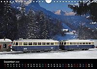 Spur N und Z international, Modelleisenbahn (Wandkalender 2019 DIN A4 quer) - Produktdetailbild 12