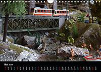Spur N und Z international, Modelleisenbahn (Wandkalender 2019 DIN A4 quer) - Produktdetailbild 5
