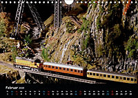 Spur N und Z international, Modelleisenbahn (Wandkalender 2019 DIN A4 quer) - Produktdetailbild 2