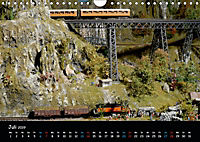 Spur N und Z international, Modelleisenbahn (Wandkalender 2019 DIN A4 quer) - Produktdetailbild 7