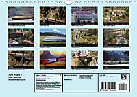 Spur N und Z international, Modelleisenbahn (Wandkalender 2019 DIN A4 quer) - Produktdetailbild 13